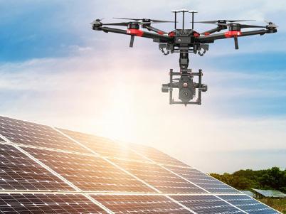 PV-Anlage mit der Drohne prüfen