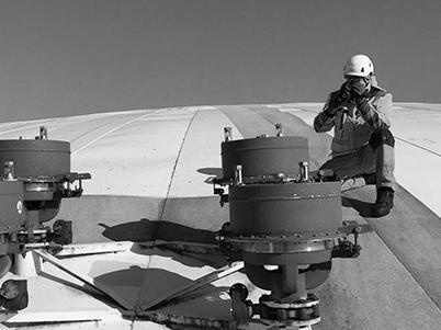 Industrielle Gasinfrastruktur