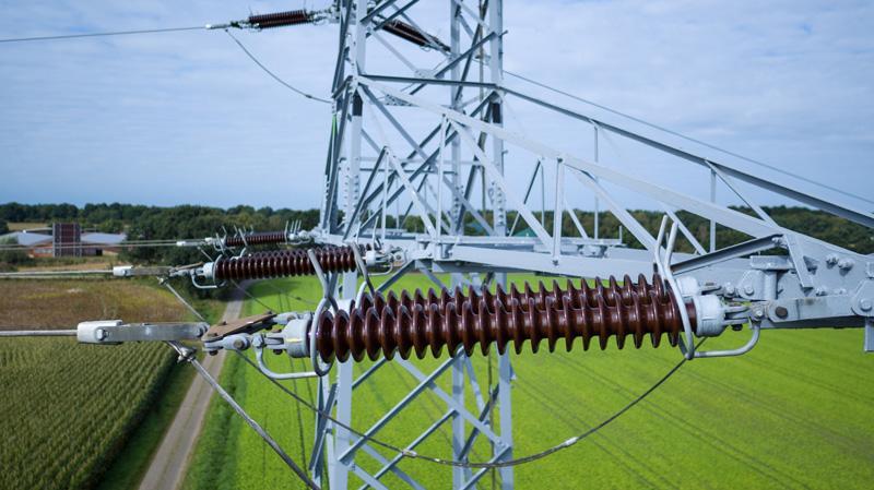 Windkraftanlage Umspannwerk