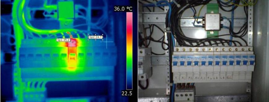 example in eletrco thermography