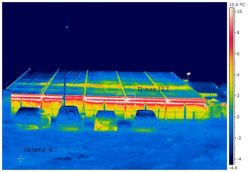 Thermografie macht Problemzonen sichtbar und ermöglicht so eine effiziente Wärmedämmung und Energieeinsparung!