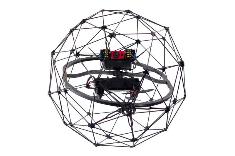 Elios Drone System for indoor use
