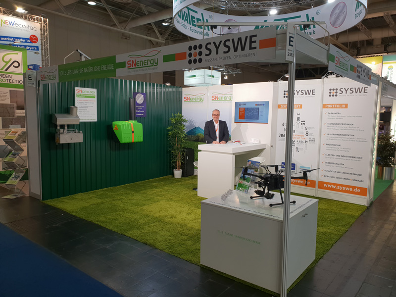 Messestand EnergyDecentral 2018