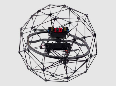 Elios drone for indoor inspections