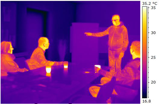 thermographic basic training infrared image