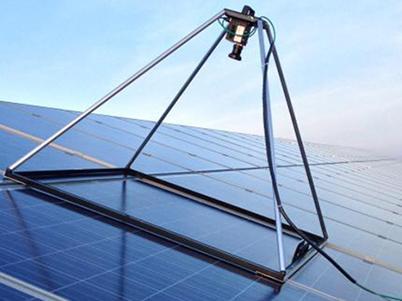 Elektrolumineszenz Messung Aufdach