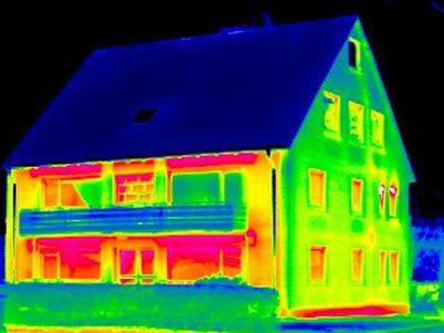 Thermografie, Elektrothermografie, Gebäudethermografie